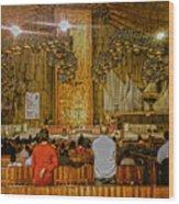 Basilica De Guadalupe 1 Wood Print