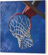 Basketball Hoop #juansilvaphotos Wood Print