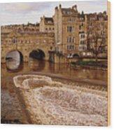 Bath England United Kingdom Uk Wood Print
