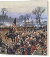 Battle Of Fredericksburg - To License For Professional Use Visit Granger.com Wood Print