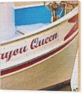 Bayou Queen Wood Print