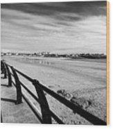 Beach At Trearddur Bay Anglesey North Wales Uk Wood Print