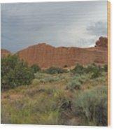 Utah Scenery Wood Print