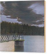 Beecraigs Loch Wood Print