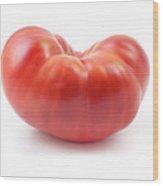 Beefsteak Tomato Wood Print