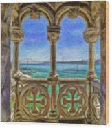 Belem Arches  Wood Print
