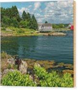 Bell Island Wood Print