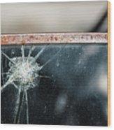 Belmont Broken Truck Window 1571 Wood Print