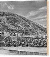 Beside The Seaside Wood Print