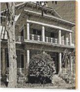 Bethea House Wood Print