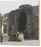 Bhojpur Temple Wood Print