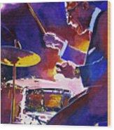 Big Band Ray Wood Print