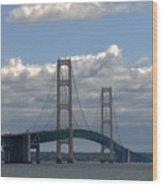 Big Bridge Wood Print