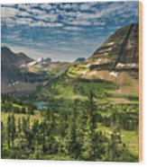 Big Sky Country Wood Print