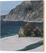 Big Sur California  Wood Print
