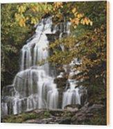 Bijoux Falls In Beautiful British Columbia Wood Print