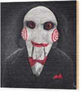 Billy The Puppet Wood Print