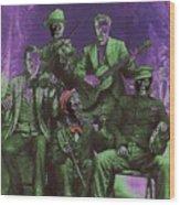 Bird Cage Theater Musicians Number 2 Tombstone Arizona Circa 1890-2009 Wood Print