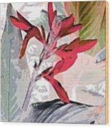 Bird Of Paradise 5 Wood Print