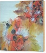 Birds Birds Birds Album Wood Print