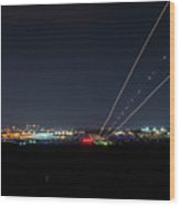 Birmingham Airport ,skyline Wood Print
