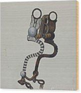 Bit Wood Print