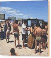 Black Sea Resort 1969 Wood Print