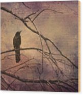 Blackbird 2 Wood Print