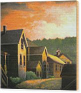 Blackhawk  Colorado Sunset Wood Print