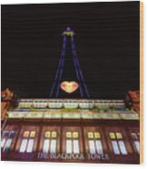 Blackpool Tower Wood Print