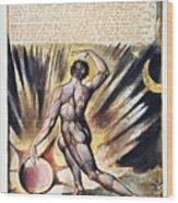 Blake: Jerusalem, 1804 Wood Print