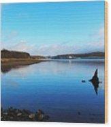 Blessington Lakes Wood Print
