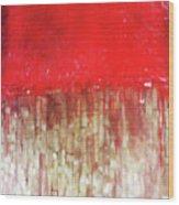 Blood And Bone  Wood Print