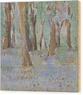 Blue Bells In The Wild Wood Print