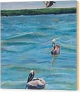 Boating In Fort Myers Wood Print