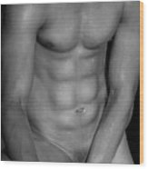 Body Art Wood Print