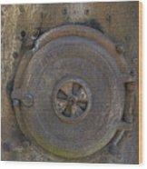 Boiler Tank Wood Print