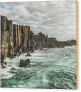 Bombo Headland Quarry At Kiama, Australia Wood Print
