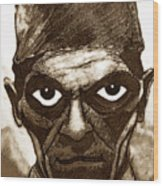 Boris Karloff  Wood Print