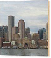 Boston Wood Print