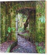 Botanic Garden - Bogota Wood Print