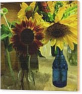 Bottled Sunshine  Wood Print