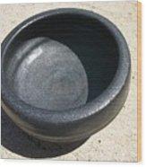 Bowl On Wheel A Wood Print by Leahblair Jackson