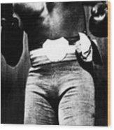 Boxer Jack Johnson, Ca. 1910s Wood Print