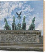 Brandenburger Gate, Berlin Wood Print