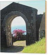 Brimstone Gate Wood Print