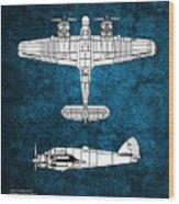 Bristol Beaufighter Wood Print