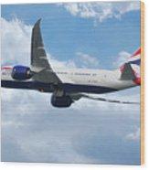 British Airways Boeing 787 Dreamliner Wood Print