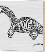 Brontosaurus Wood Print