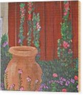 Brown Jug  Wood Print